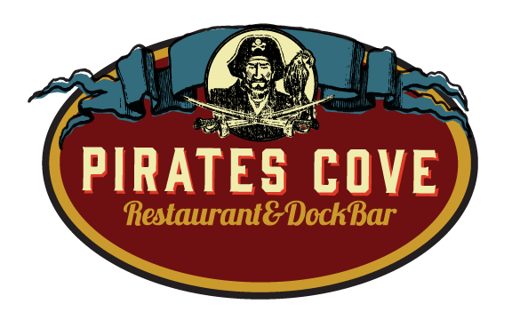 Pirates Cove red oval